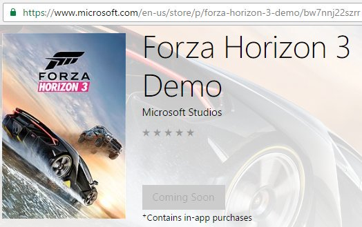 Forza Horizon 3 Demo – Forza Support