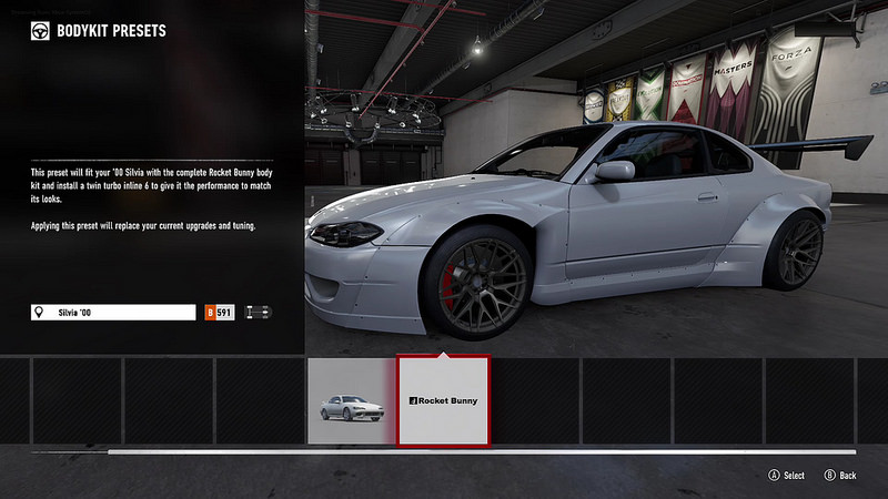 Upgrade Shop And Homologation Restrictions Forza Support