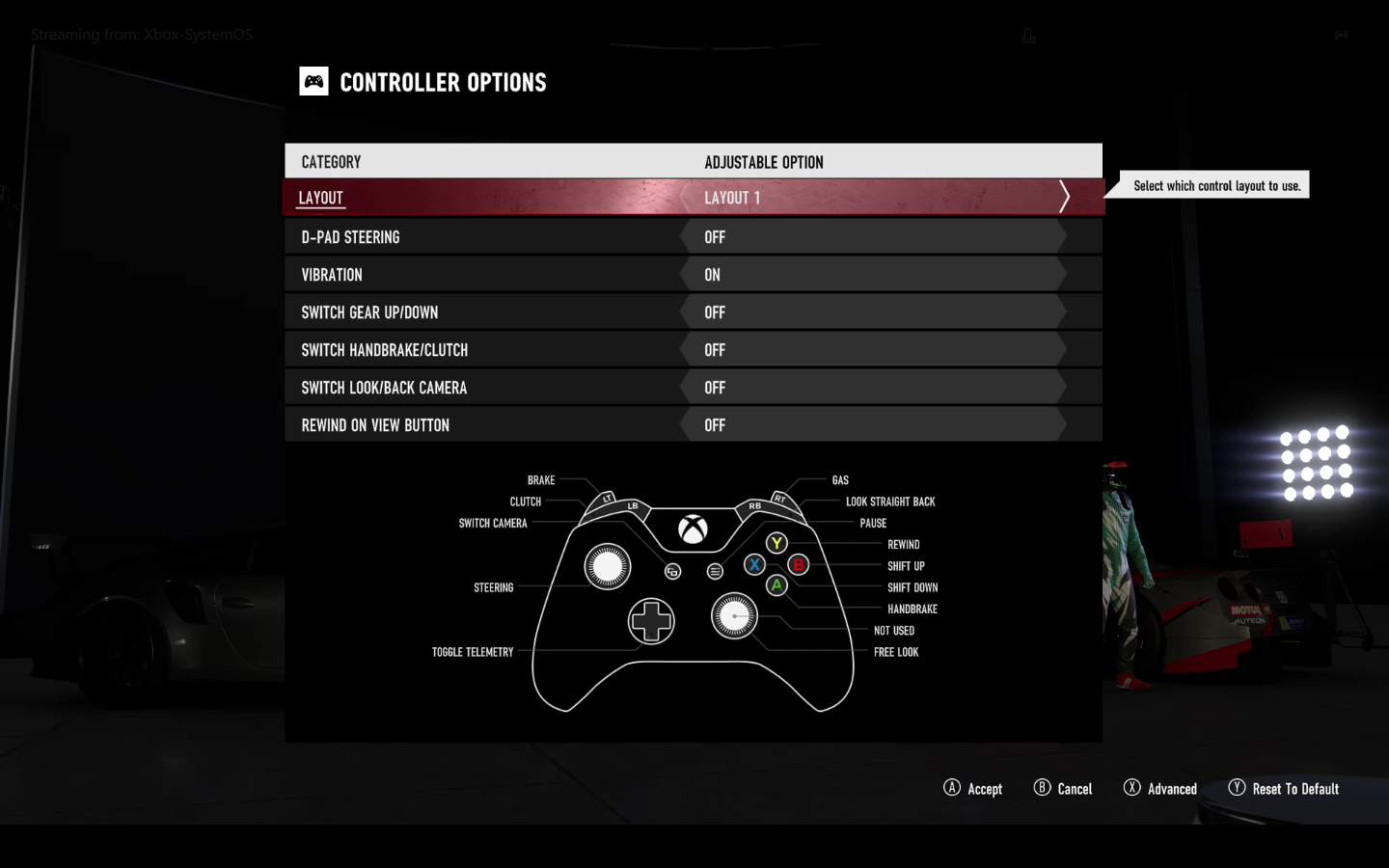 Controller Settings – Forza Support