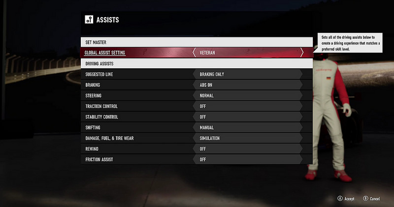Difficulty, Assists and Drivatars – Forza Support
